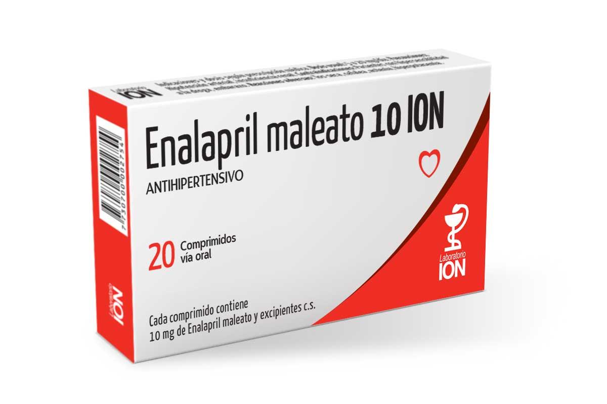 Enalapril Maleato ION | Laboratorio Ion